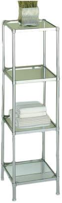 """Rebrilliant 13.25"""" W x 48"""" H Bathroom Shelf"""