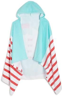 Caro Home Sailing Kids Hooded Beach Towel