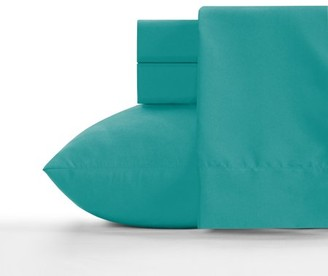 Crayola Blue Green Microfiber Sheet Set