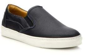 Saks Fifth Avenue COLLECTION Perforated Leather Slip-On Sneakers