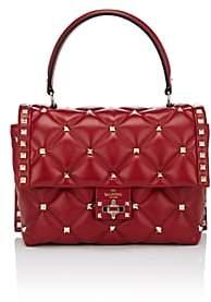 Valentino Women's Candystud Single Leather Handbag - Red
