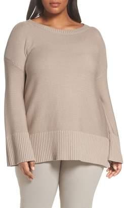 Lafayette 148 New York Lafayette 148 Silk and Cotton Sweater
