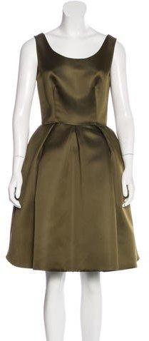 pradaPrada Satin A-Line Dress w/ Tags