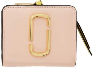 Marc Jacobs Pink Mini Snapshot Compact Wallet