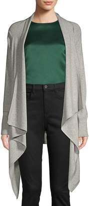 Qi Cashmere Waterfall Cardigan