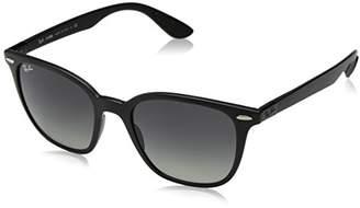 Ray-Ban Plastic Unisex Polarized Square Sunglasses