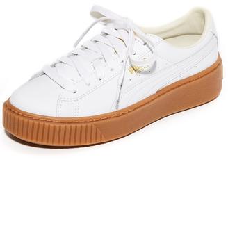 PUMA Basket Platform Core Sneakers $100 thestylecure.com