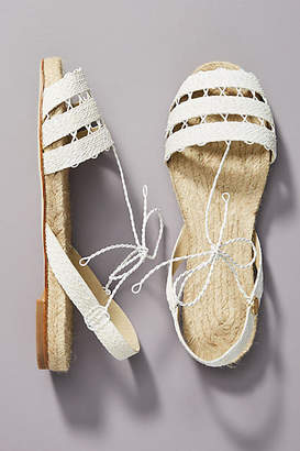 Ball Pages All-White Slingback Sandals