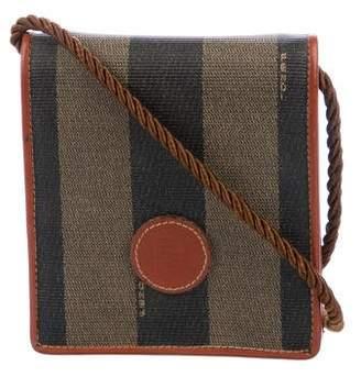 Fendi Pequin Compact Crossbody Bag