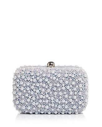 From St Xavier Marcela Faux-Pearl Embellished Clutch - 100% Exclusive