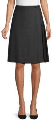 Burberry Classic Wool Kilt Skirt