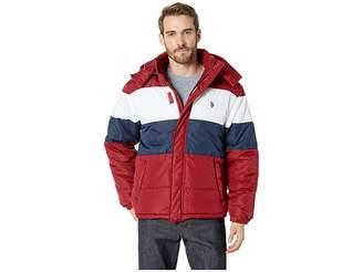U.S. Polo Assn. Color Block Bubble Men's Coat