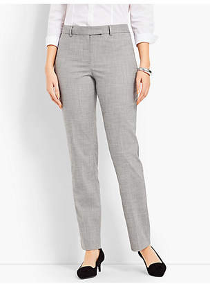 Talbots High-Waist Straight-Leg - Curvy Fit/Chambray
