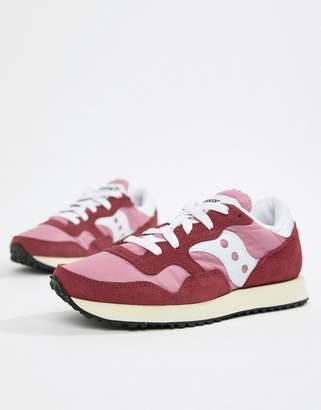 Saucony DXN vintage sneaker in pink
