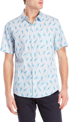 Steven Alan Printed Short Sleeve Shirt