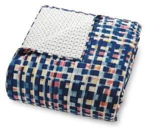 Vera Bradley Abstract Blocks Cotton Quilt