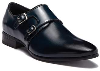 Stacy Adams Vance Leather Monk Strap Loafer