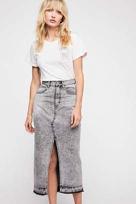 One Teaspoon Oneteaspoon OneTeaspoon Rocko Denim Skirt