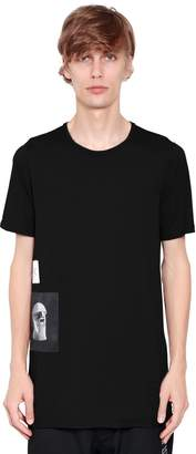 Rick Owens Drkshdw Patches Cotton Jersey T-Shirt