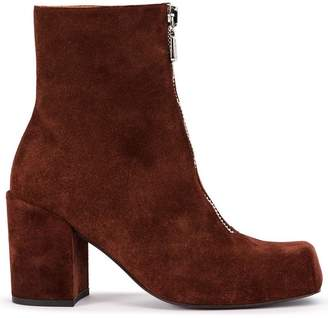 Aalto zipped ankle boots