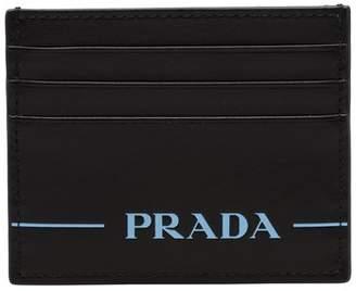 Prada Mirage Leather Credit Card Holder