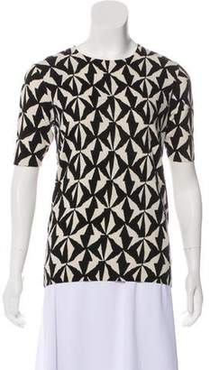 Etoile Isabel Marant Printed Short Sleeve Top