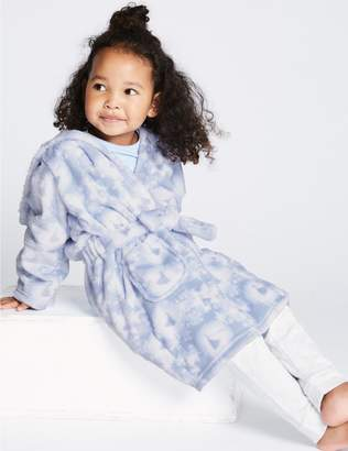 Marks and Spencer Disney Frozen Dressing Gown (2-10 Years)