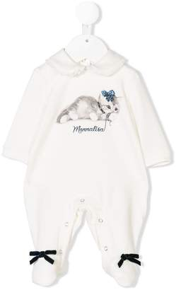 MonnaLisa cat print pyjama