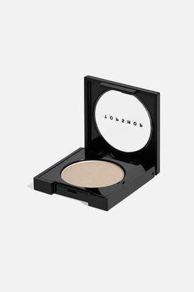Topshop Womens Romantic Rebel Satin Eye Shadow In Downtown - Pale Grey