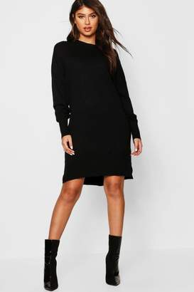 boohoo Crew Neck Knitted Oversized Jumper