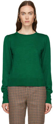 Isabel Marant Green Auxane Crewneck Sweater