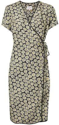 HVN daisy sleeveless dress