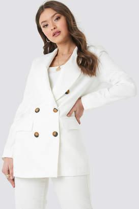 Trendyol Yol Oversized Blazer White