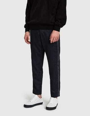 Maiden Noir Wool Paisley Trouser