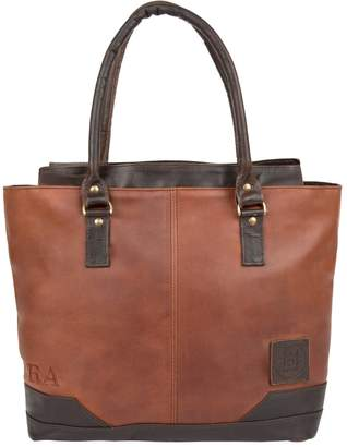 MAHI Leather - Leather Florence Tote Handbag In Vintage Brown