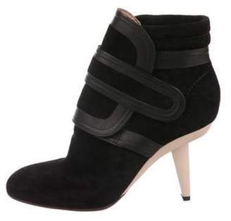 Marni Suede Ankle Boots Black Suede Ankle Boots