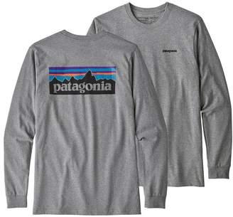 Patagonia Men's Long-Sleeved P-6 Logo Responsibili-Tee®