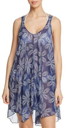 d90b4c7740 J Valdi Bloom Flowy Racerback Dress Swim Cover-Up
