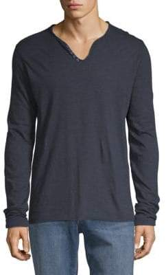 Zadig & Voltaire Monastir Long-Sleeve Cotton Tee