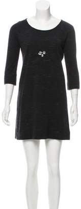 Sonia Rykiel Sonia by Wool Mini Dress