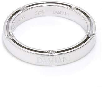 Damiani 18K White Gold & 10P Diamond Ring