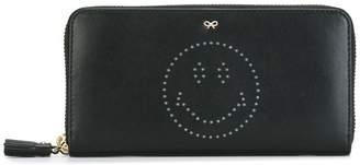 Anya Hindmarch 'Smiley' zip around wallet