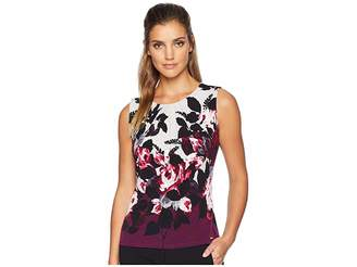 Calvin Klein Pleat Neck Cami Women's Clothing