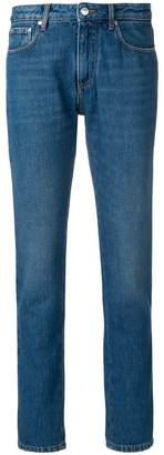 MSGM straight leg branded jeans