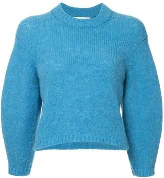 Tibi Cozette cropped sweater