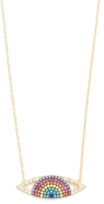 Shashi Eye Charm Necklace $102 thestylecure.com
