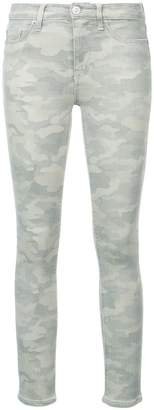 Hudson Nico faded camouflage jeans