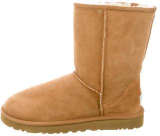 UGG Australia Classic Short Boots $95 thestylecure.com