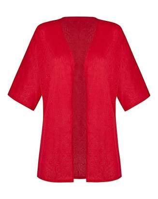 Fashion World Jersey Jacquard Kimono