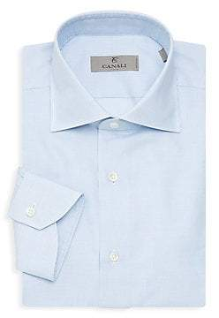 Canali Men's Cotton Dress Shirt